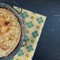 Sóskás, ricottás, füstölt sajtos pite