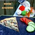 Quiche Alsacienne - francia sós lepény