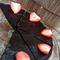 Nyers vegán avokádó torta (gluténmentes, cukormentes, laktózmentes, tojásmentes, nyers vegán)