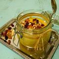 Sütőtökös puding aszalt gyümölcsökkel és magvakkal
