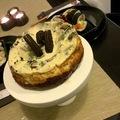 Oreós brownie sajttorta