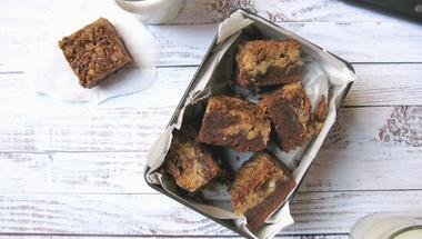 Mogyoróvajas brownie