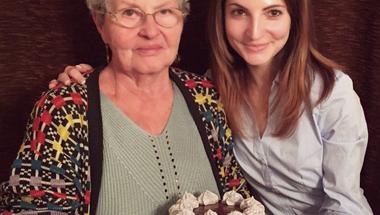 Mami 83 éves szülinapi tortája