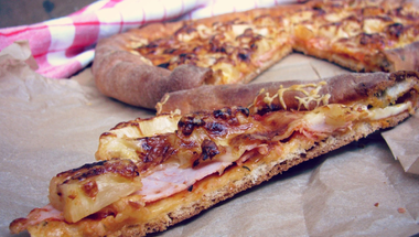 Hawaii pizza - 17. blogkóstoló
