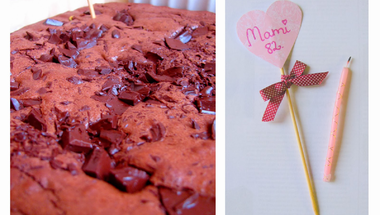 Kardamomos-marcipános dupla csokis brownie