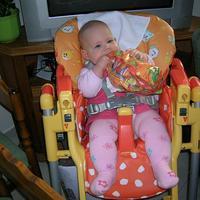 Fruzsi baba 7 hónapos