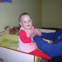 Fruzsi baba 10 hónapos
