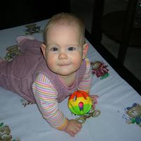 Fruzsi baba 9 hónapos