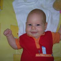 Fruzsi baba 3 hónapos