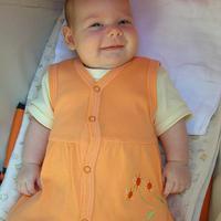 Fruzsi baba 2 hónapos