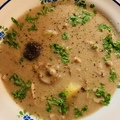 Háromgombás leves