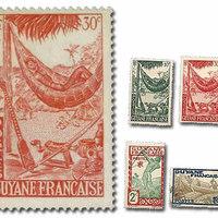 Függőágyas bélyegek