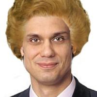 Margaret Thatcher a síron túlról diktálja a frizuradivat