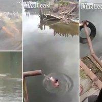 Egy magát sámánnak nevező férfi azt állította, az ereje távoltartja a krokodilokat, aztán belesétált a tóba. Tippelj, mi történt!
