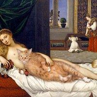 Láttuk jönni: híres festmények macskákkal