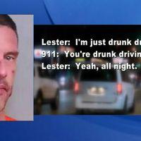 Az újév hőse a tisztességes részeg, aki magára hívta a rendőröket ittas vezetésért