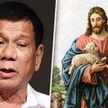 A Fülöp-szigetek elnöke bejelentette, hogy lemond, ha valaki bebizonyítja neki, hogy isten létezik