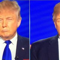 Fontos: ha Donald Trump szemeit kicseréled a szájára, ugyanúgy néz ki!