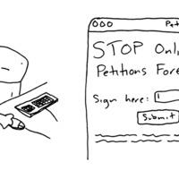 Online aláírásgyűjtést kezdtek az értelmetlen online aláírásgyűjtések ellen