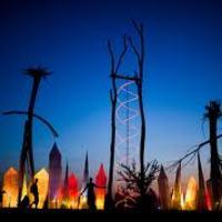 Ozora festival 2011 - pszichedelikus játszótér felnőtteknek