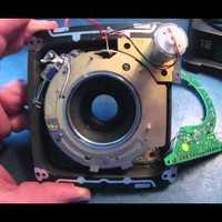 GX680-asra való, 80mm-es objektív belülről