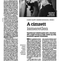 Sógorság-komaság 2. A Tőkés-kláné az erdélyi sajtótámogatás (HVG. spoiler)