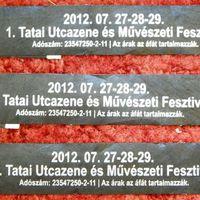 I. Tatai Utcazene és Művészeti Fesztivál - beszámoló