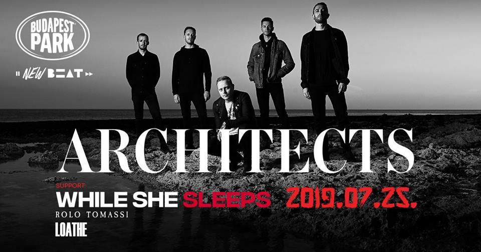Jön az Architects a Budapest Parkba!