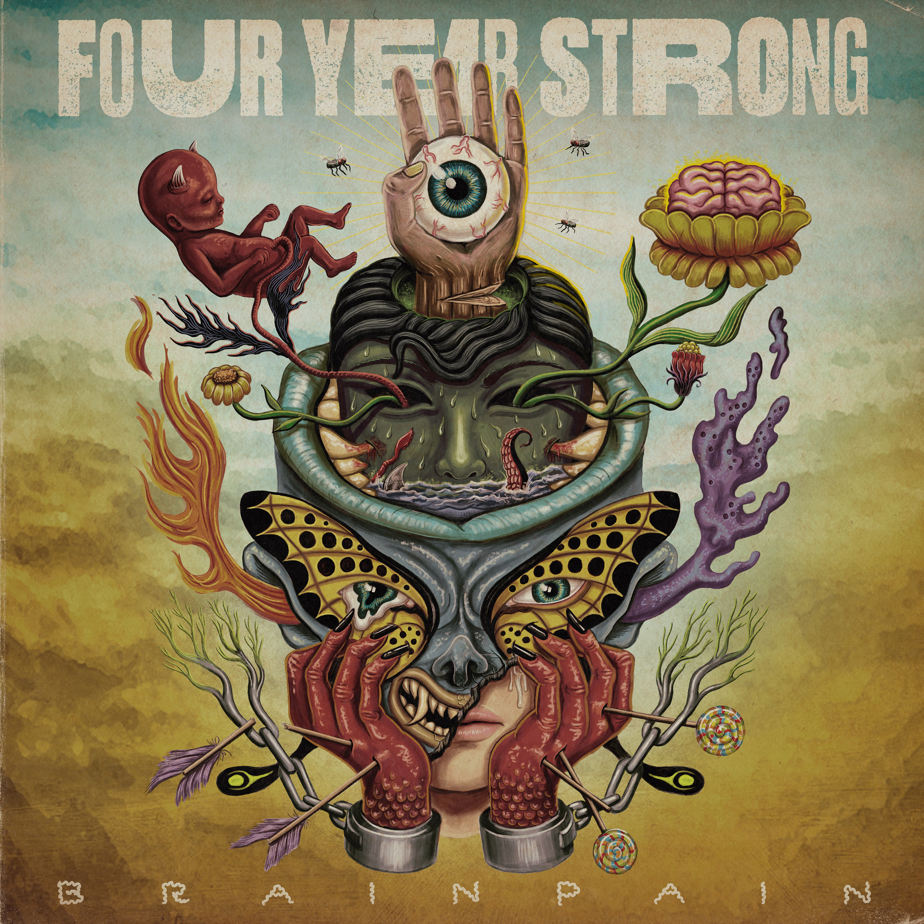 Anyu, fáj a fejem! | Four Year Strong – Brain Pain (2020)