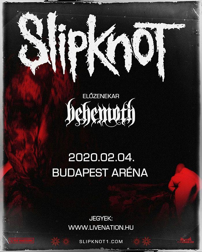 Február 4-én Slipknot az Arénában!