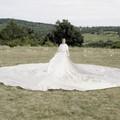 8 méter átmérőjű ruhában forgatott klipet Harcsa Veronika