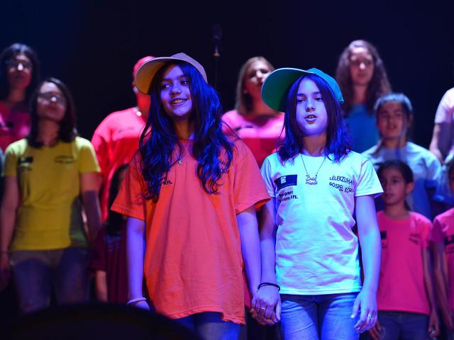 Rendőrökkel koncerteznek az állami gondozott gyerekek