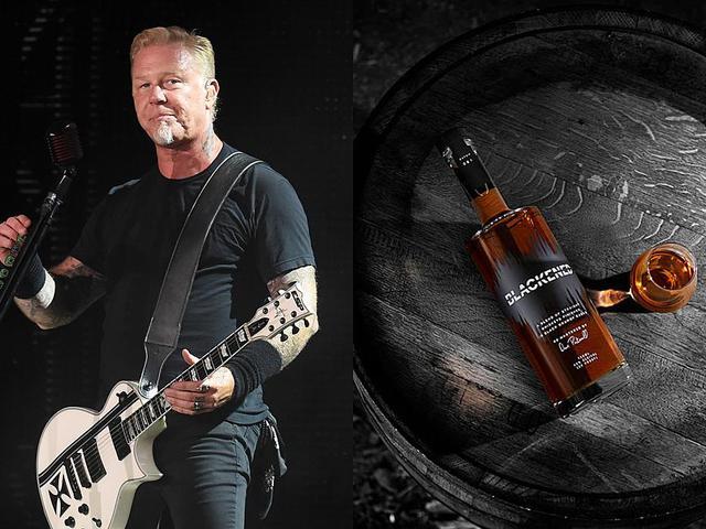 A saját zenéjével érlelt whiskey-t árul a Metallica