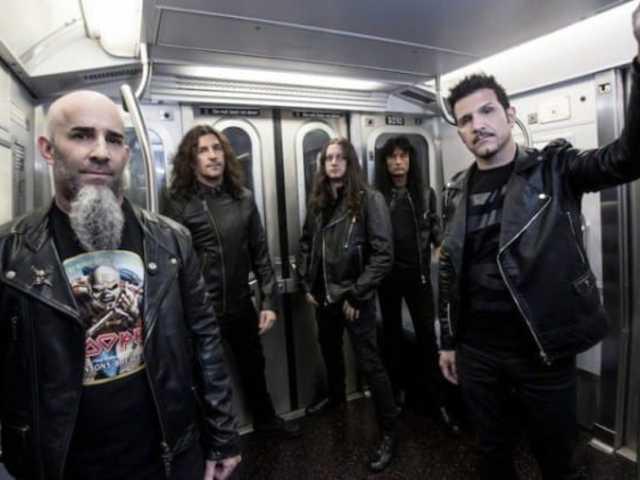 Az Anthrax játszik a Slayer előtt az Arénában