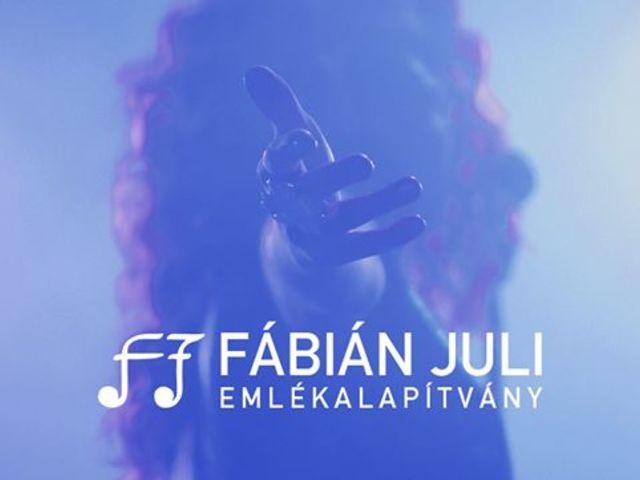 Zeneipari háttérmunkásokat támogat a Fábián Juli Emlékalapítvány