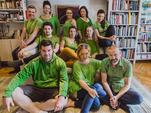 A szelektív hulladékgyűjtésért kampányol a Budapest Voices