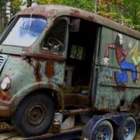 Erdőből került elő az Aerosmith első turnébusza