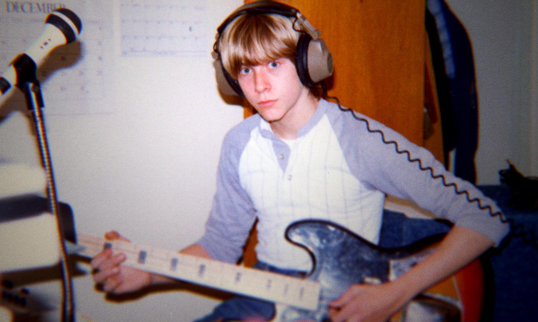 Kurt tinédzserként már megszállottan készült a zenei karrierre.