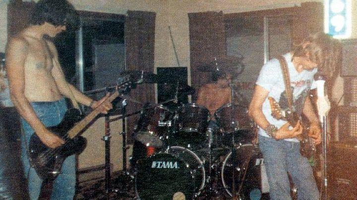 Az első Nirvana-koncert 1987. márciusában.
