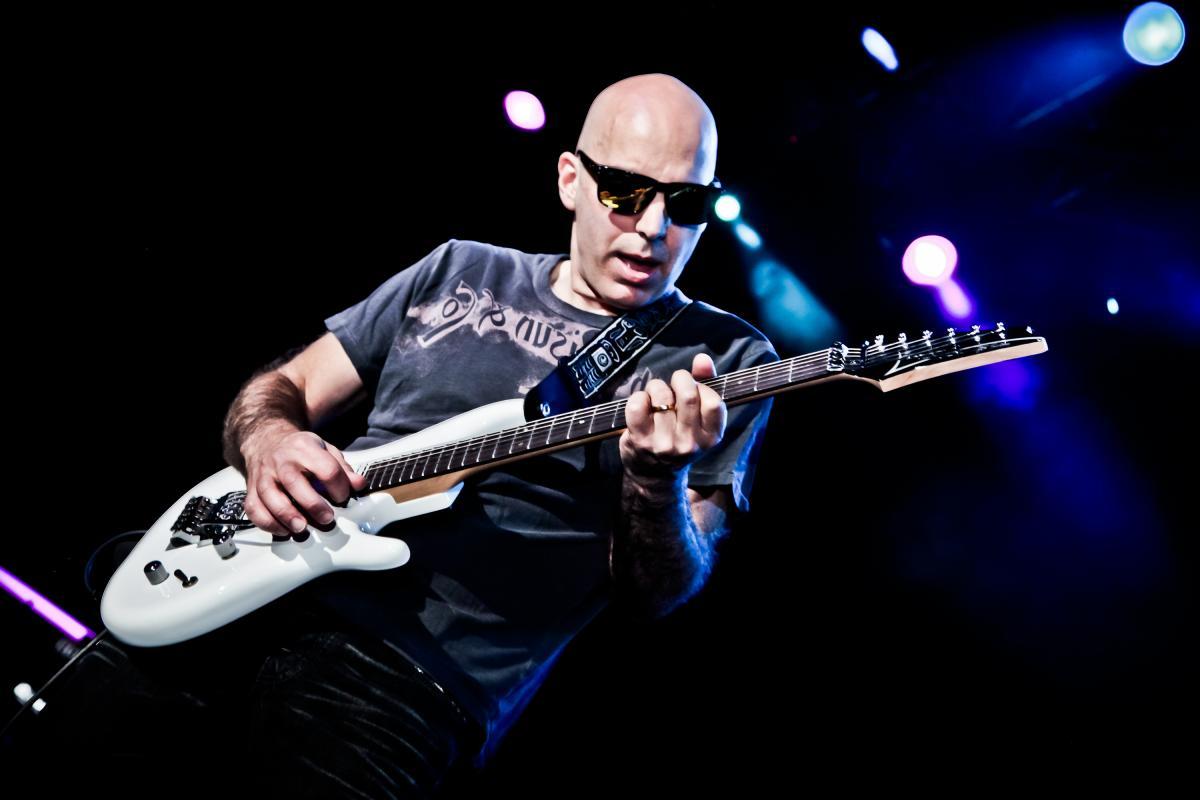 4. Joe Satriani
