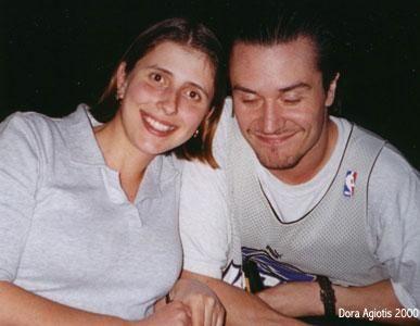 Patton 1994-től 2001-ig volt házas, feleségével, az olasz Cristina Zuccatostaval ez az egyetlen fotó az interneten