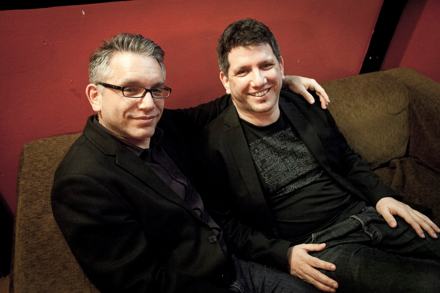 Gátos Iván és Bálint <br />A Gátos-testvérek elsősorban kiváló session zenészek, sok helyen muzsikálnak. Iván (balra) billentyűs, Bálint basszusgitáros.