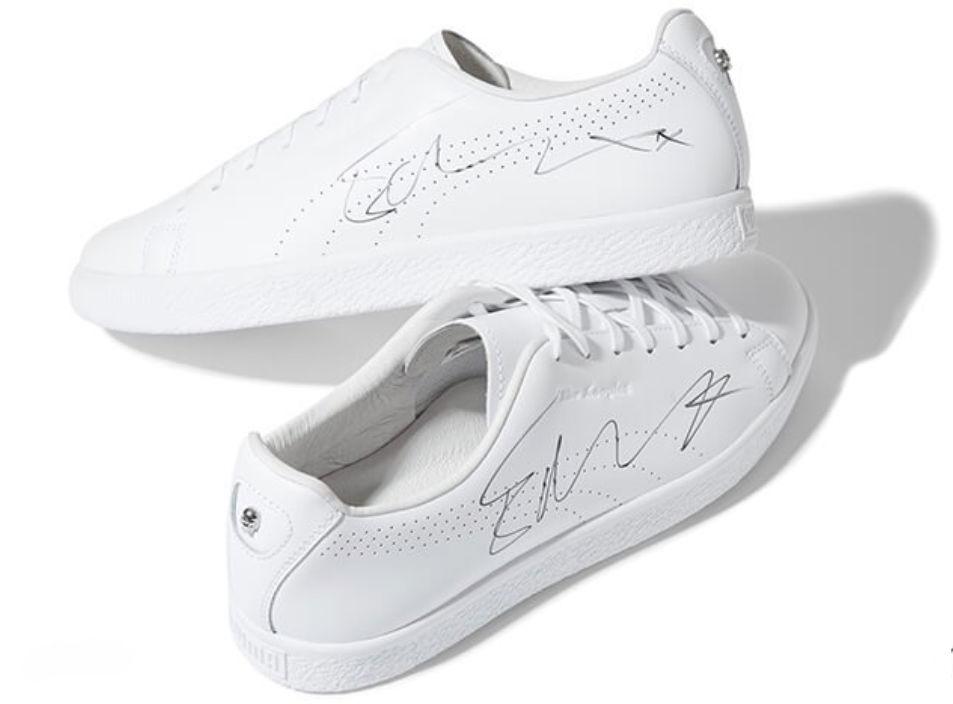 Ed Sheehan is elküldte nekik egy dedikált cipőjét.