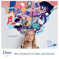 A Dove az egészséges testképért kampányol!