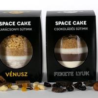 Kreatív sütemény, azaz itt a Space Cake...