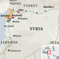 Szíria szomszédos szemszögből
