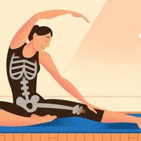 Napi 12 perc jóga a csontok egészségéért