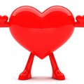 Szív formájú radír