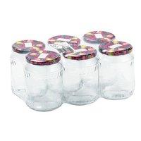 Befőttes üveg formájú pohár