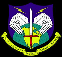 A NORAD címere - Észak-Amerika légterét védelmezik.